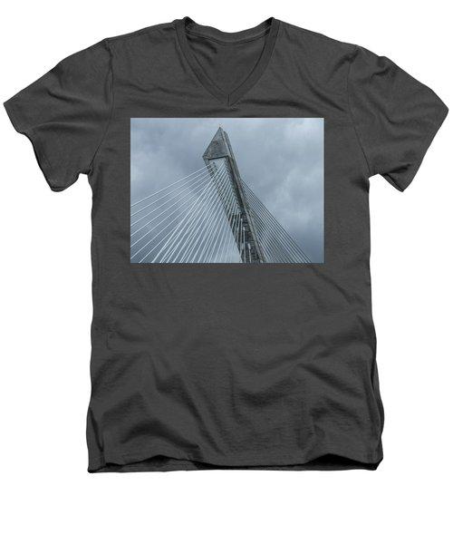 Terenez Bridge II Men's V-Neck T-Shirt