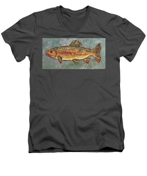 Teresa The Trout Men's V-Neck T-Shirt