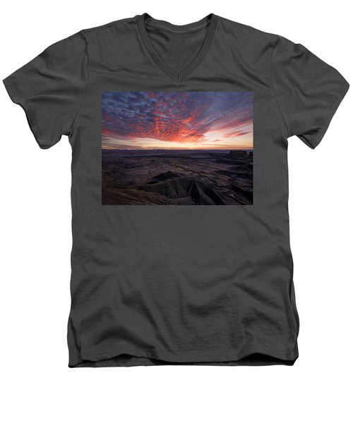 Terrain Men's V-Neck T-Shirt
