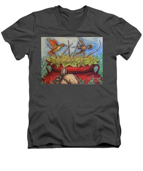Territorial Rights Men's V-Neck T-Shirt