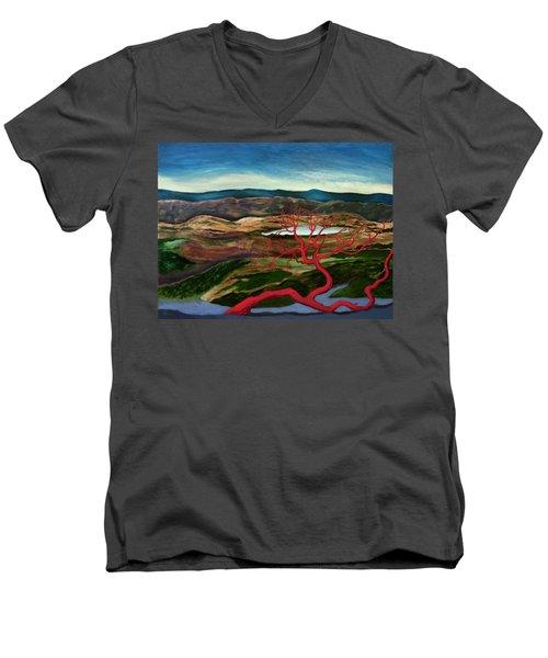 Tess' World Men's V-Neck T-Shirt