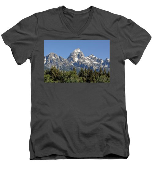 Teton Grande Men's V-Neck T-Shirt