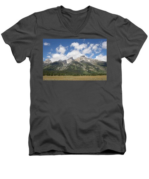 Teton View Men's V-Neck T-Shirt