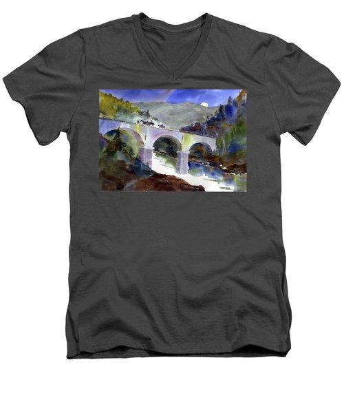 Tevis Crossing 3am Men's V-Neck T-Shirt