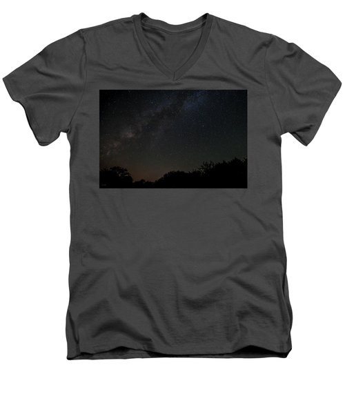 Texas At Night Men's V-Neck T-Shirt