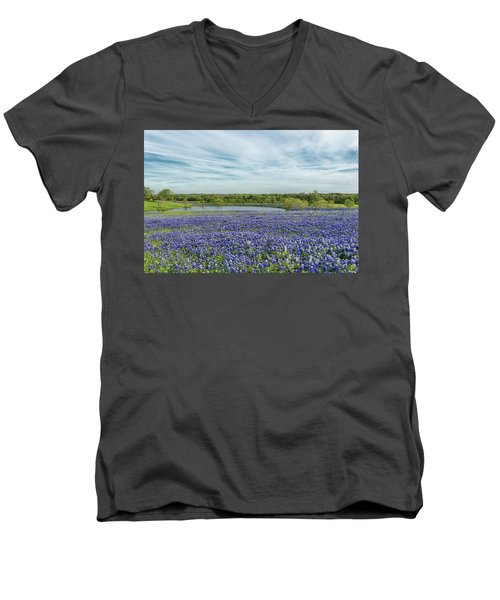 Texas Bluebonnets 13 Men's V-Neck T-Shirt