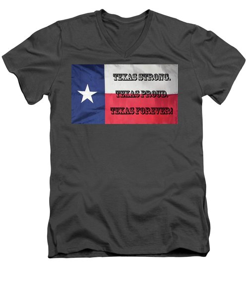 Texas Strong Men's V-Neck T-Shirt