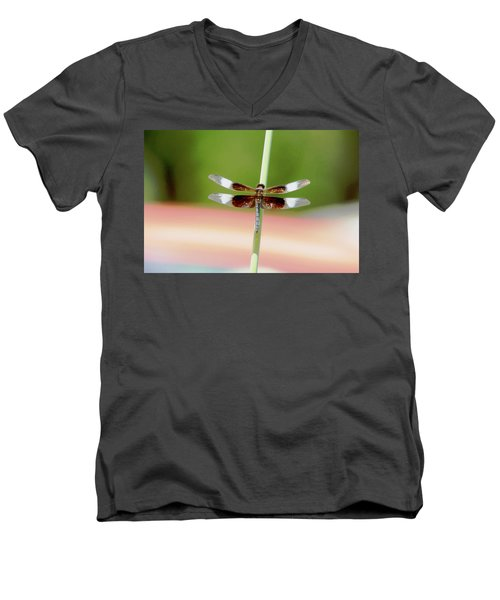 Texas Widow Skimmer - 10 Digitalart Men's V-Neck T-Shirt