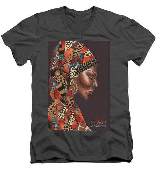 Thank You Angela Men's V-Neck T-Shirt