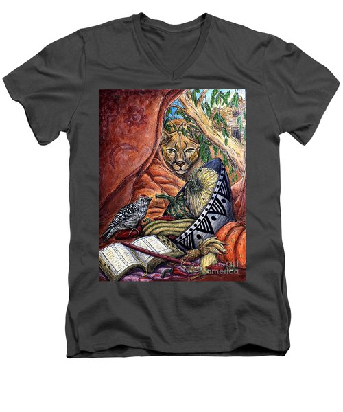 Thanks-giving Men's V-Neck T-Shirt