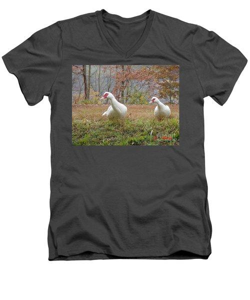 That A Way Men's V-Neck T-Shirt