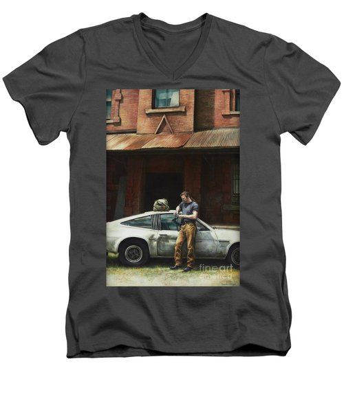That Fleeting Moment Captured Men's V-Neck T-Shirt by Yvonne Wright