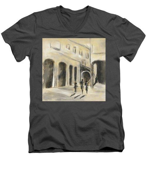That Old House Men's V-Neck T-Shirt