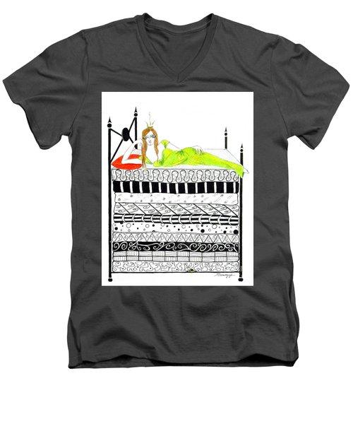 That Pesky Pea Men's V-Neck T-Shirt