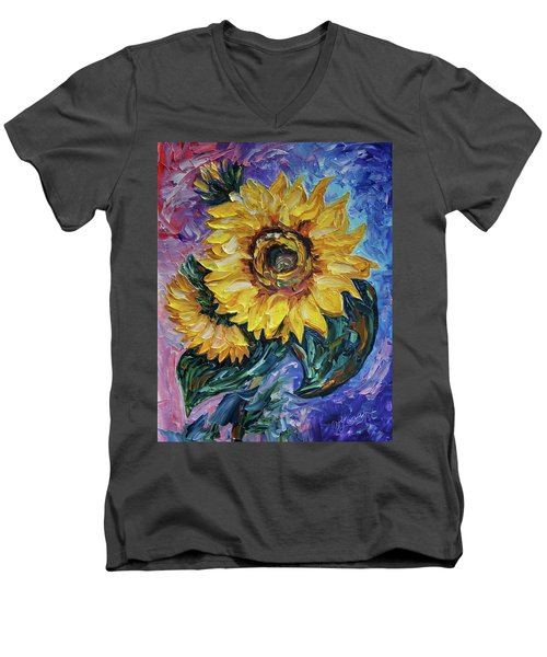 That Sunflower From The Sunflower State Men's V-Neck T-Shirt