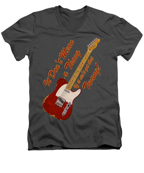 That Twang T-shirt Men's V-Neck T-Shirt
