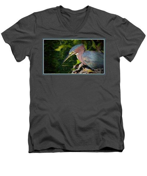 That Was Tasty Men's V-Neck T-Shirt by Pamela Blizzard