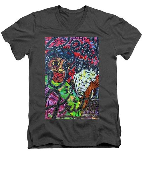 The 3 R's Men's V-Neck T-Shirt