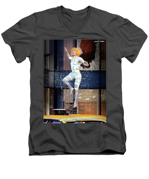 The 5th Element Men's V-Neck T-Shirt