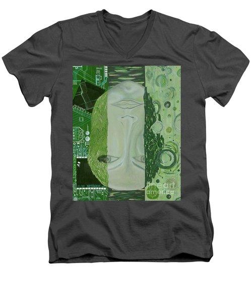 The 7th Creation Men's V-Neck T-Shirt