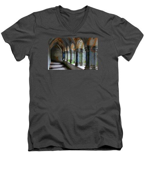 The Abbey Men's V-Neck T-Shirt by Robert Och