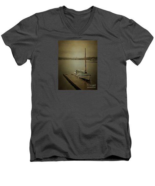 The Admirable Men's V-Neck T-Shirt by Susan Parish