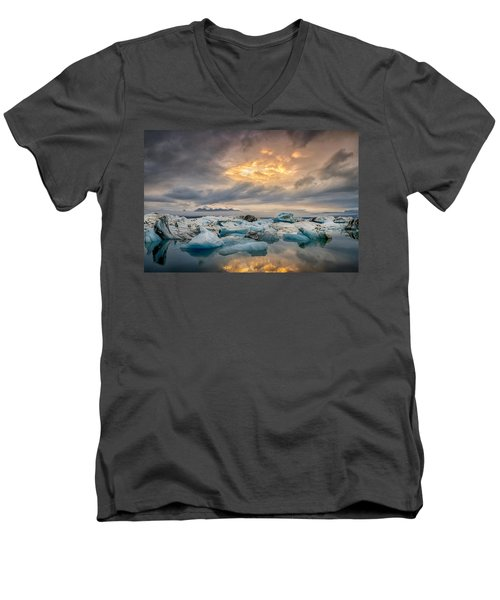 The Afternoon Has Gently Passed Me By Men's V-Neck T-Shirt