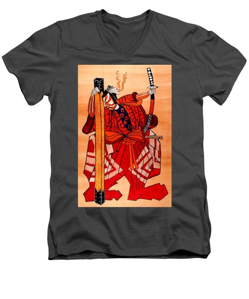 The Age Of The Samurai 04 Men's V-Neck T-Shirt
