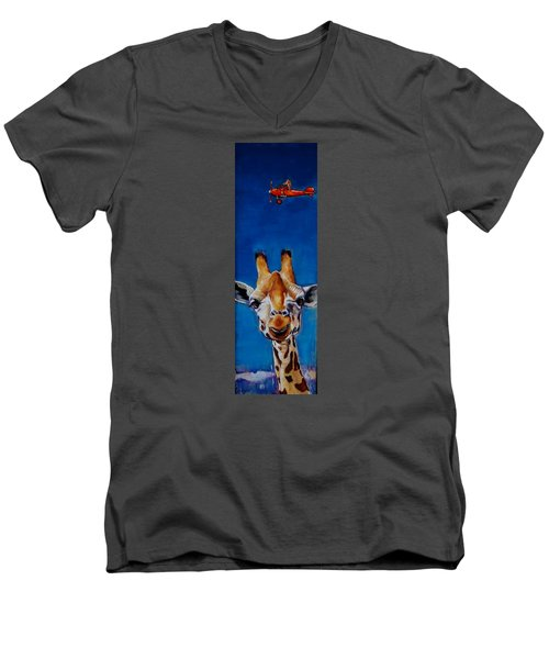The Air Up There Men's V-Neck T-Shirt