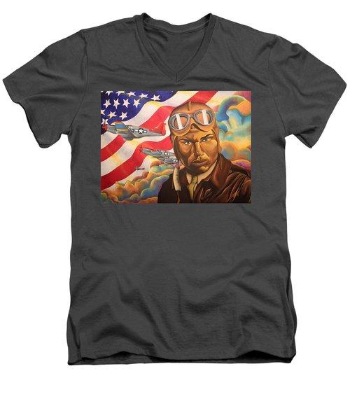 The Airman Men's V-Neck T-Shirt