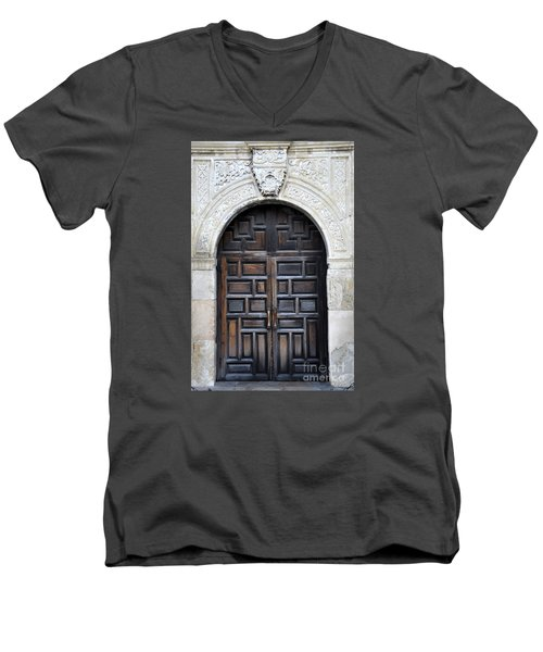 The Alamo Door Men's V-Neck T-Shirt