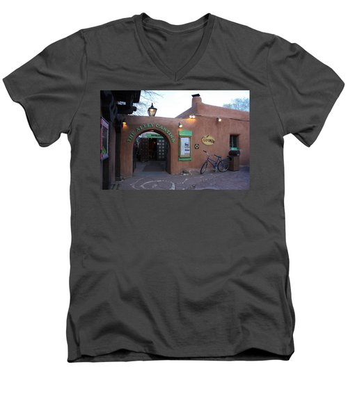 The Alley Cantina Men's V-Neck T-Shirt