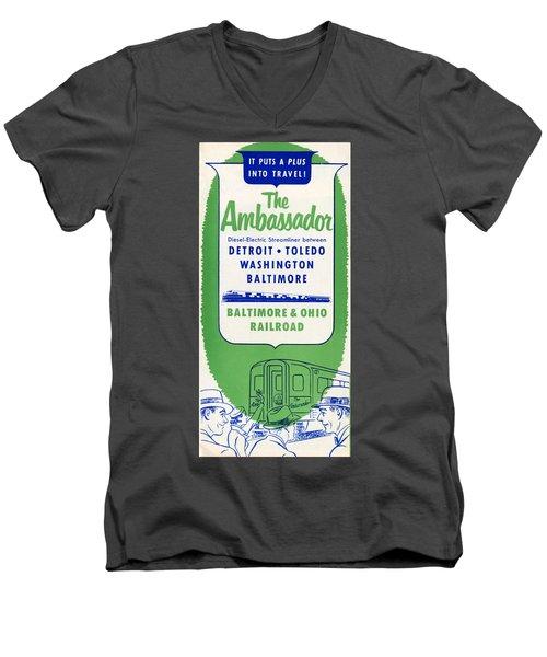 The Ambassador Men's V-Neck T-Shirt