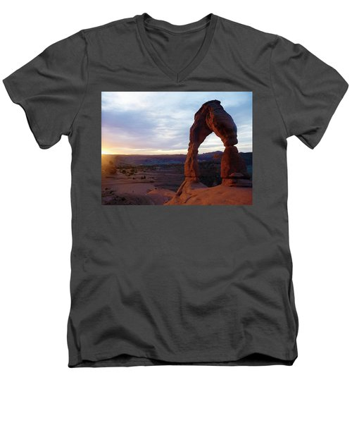 The Arch Men's V-Neck T-Shirt