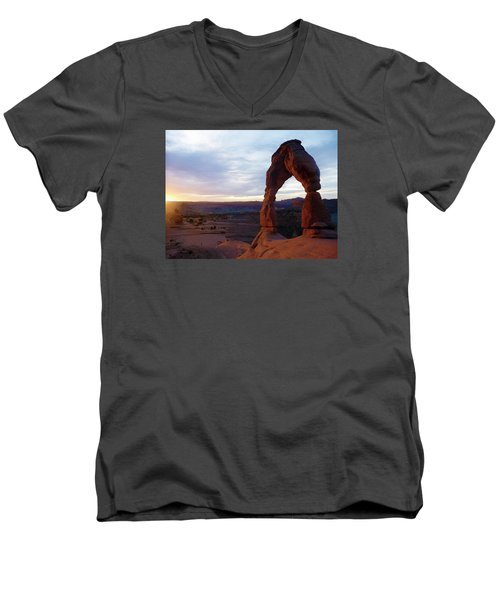 The Arch Men's V-Neck T-Shirt