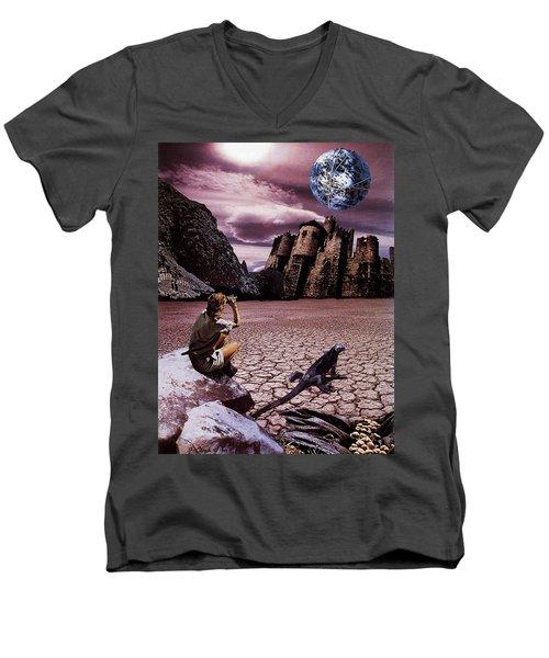 The Archeologist Men's V-Neck T-Shirt