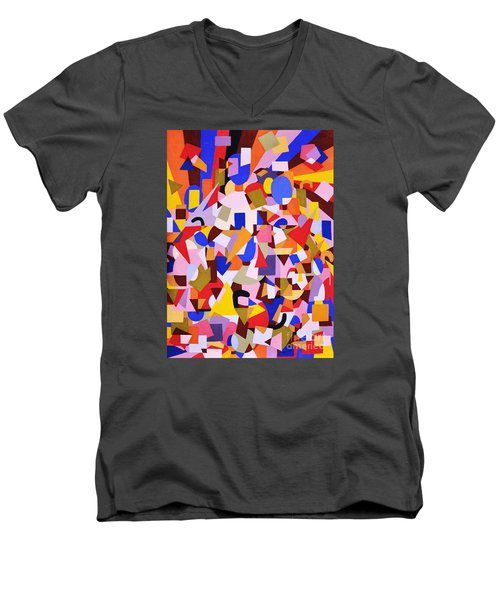 The Art Of Misplacing Things Men's V-Neck T-Shirt