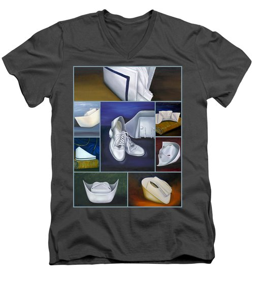 The Art Of Nursing Men's V-Neck T-Shirt