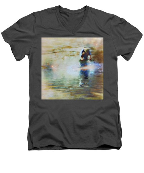 The Artist As A Boy Men's V-Neck T-Shirt