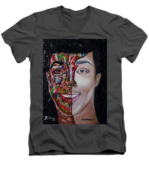 The Artist Within Men's V-Neck T-Shirt