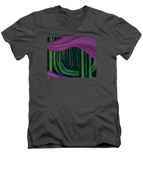 The Ash Grove  Men's V-Neck T-Shirt