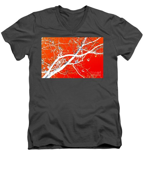 The Asian Tree Men's V-Neck T-Shirt