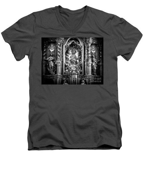 The Assumption Of Mary Pilgrimage Church Men's V-Neck T-Shirt