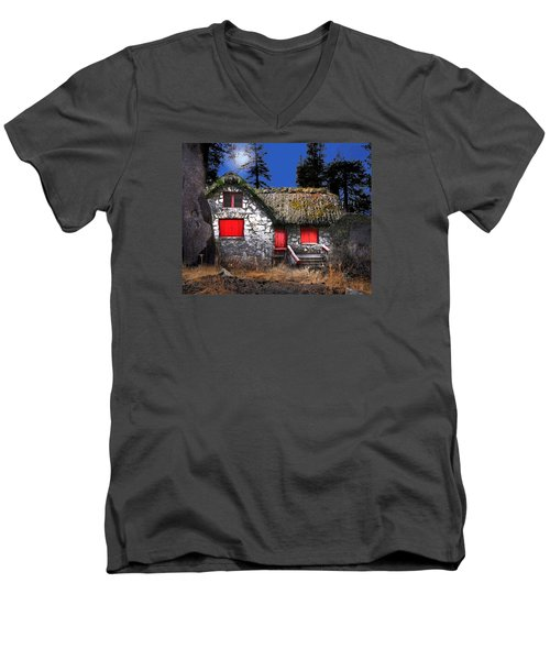 The Auld Church Men's V-Neck T-Shirt