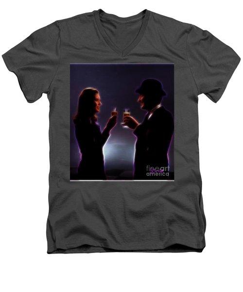 The Avengers #1 Men's V-Neck T-Shirt
