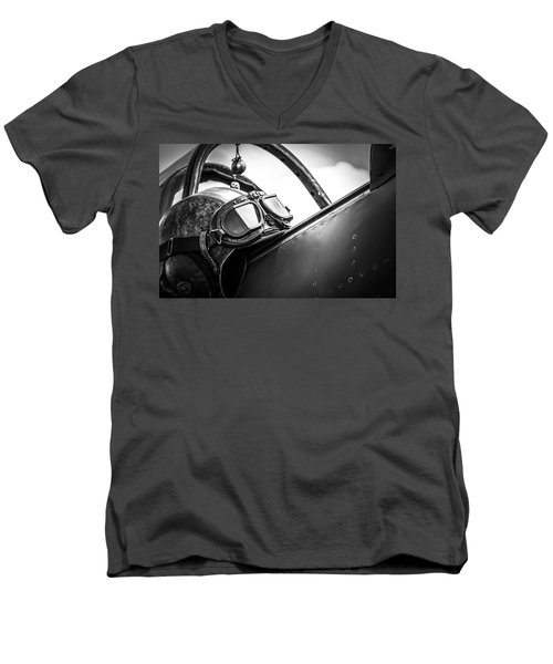 The Aviator Men's V-Neck T-Shirt