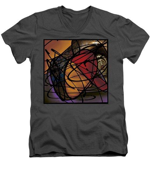 The B-boy As Writer Men's V-Neck T-Shirt