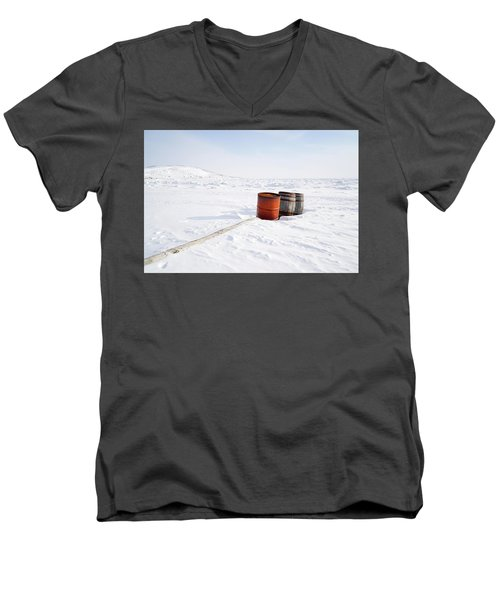 The Barrels Men's V-Neck T-Shirt