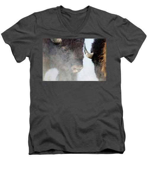 The Battle Men's V-Neck T-Shirt