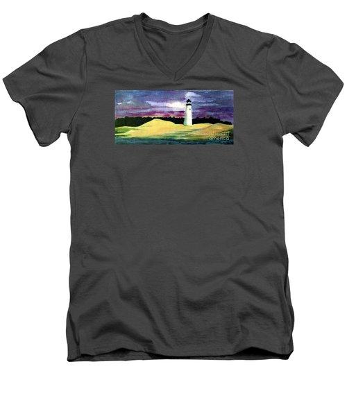 The Beacon Men's V-Neck T-Shirt